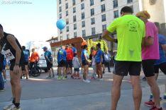 Una imagen de la tarde de atletismo popular en la capital. /SN