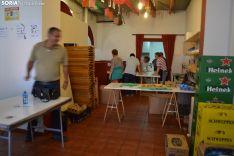 Una imagen de la comida vecinal en Los Pajaritos. /SN