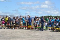 Una imagen de la prueba libre con la que cerraba el campeonato esta mañana en Velilla. /SN