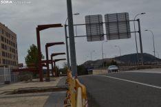 Pasarela de Soria a Camaretas a día 23 de septiembre de 2019. SN