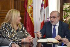 Yolanda de Gregorio y Miguel Latorre.