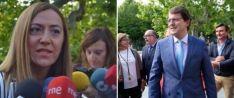 La visita de Mañueco a Soria da inicio a la enésima campaña electoral