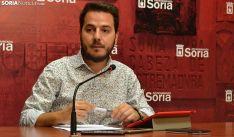 Eder García, concejal de Acción Social este martes. /SN