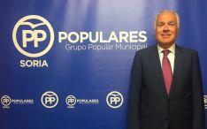 El concejal popular Javier Muñoz Remacha.