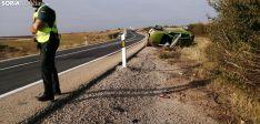 Accidente en la N122. Soria Noticias