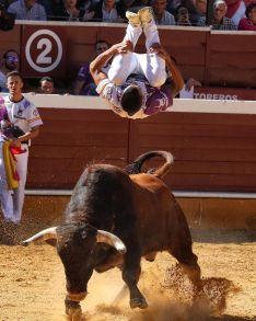 Foto 5 - J. P. Villanueva 'Aguilucho', campeón del Concurso Nacional de Recortes de Soria