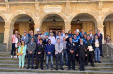Entrega de medallas y distinciones especiales de la Policía Local de Soria.
