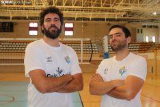 Manolo Sevillano y Elías Terés, primero y segundo, respectivamente, del Río Duero. SN