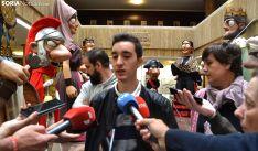 Manuel izquierdo, uno de los integrantes de la comparsa. /SN