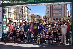Carreras de categorías inferiores de la Media Maraton Abel Antón 5K Fermín Cacho 2019. /S.N.