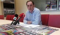 El alcalde, Benito Serrano, en la presentación del festival. /SN
