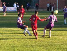 Becerril-Numancia en el Mariano Haro (1-4).