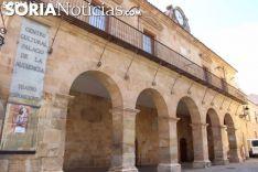 Fachada del Palacio de la Audiencia. SN