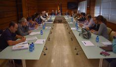 Reunión interadministrativa celebrada este lunes. /Jta.