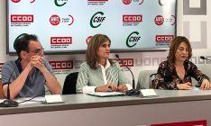 Representantes sindicales de las fuerzas más representadas en el sector público de CyL.