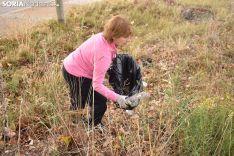 Sorianos participante en el World Cleanupday.