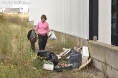 Sorianos participante en el World Cleanup Day.