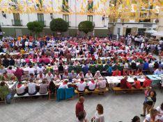 Una imagen del último día de las fiestas olvegueñas. /SN