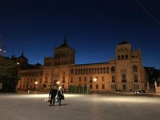 La Academia de Caballería en el Paseo Zorrilla de Valladolid. Foto: Leticia Aguado