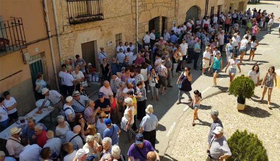 Una imagen del encuentro del 3 de agosto. /Casas de Soria