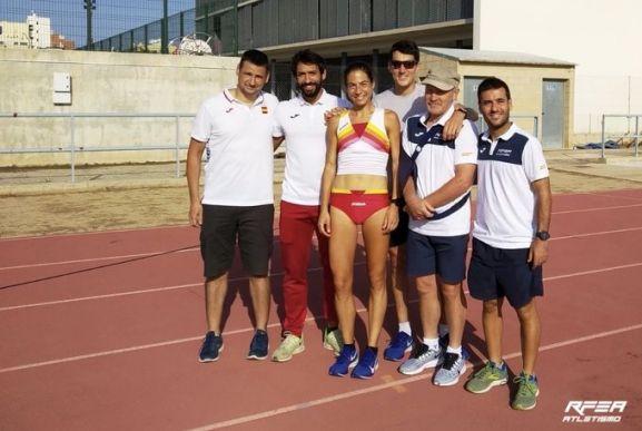 Oficialmente, Dani Mateo estará en Doha. Superó ayer el control de kla Real Federación Española de Atletismo. RFEA