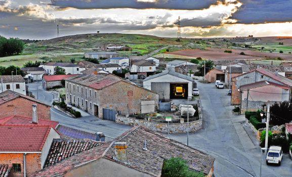 Vista de Rabanera del Campo.