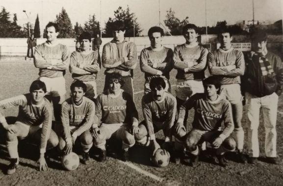 Integrantes de aquel Soria CF.