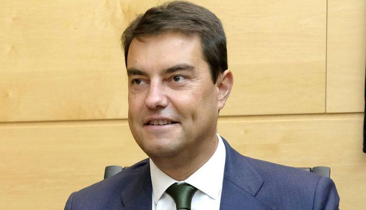 Ángel Ibáñez, consejero de Presidencia. /Jta.