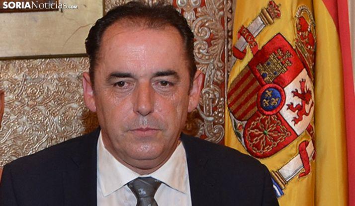 Benito Serrano, presidente de la Diputación. /SN