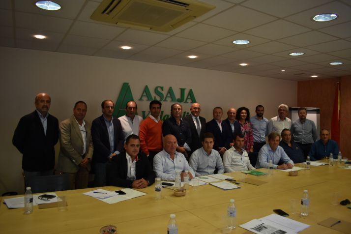 Junta Directiva Regional de Asaja.