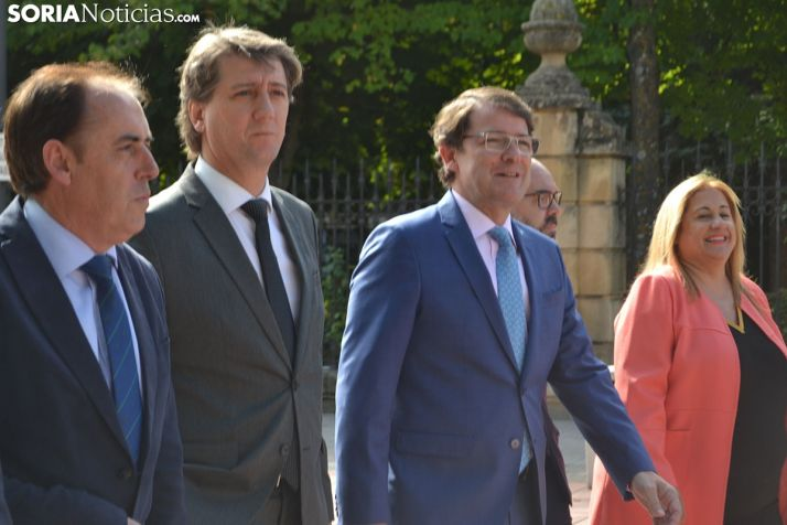 Foto 1 - Mañueco reitera su compromiso para que Soria tenga radioterapia