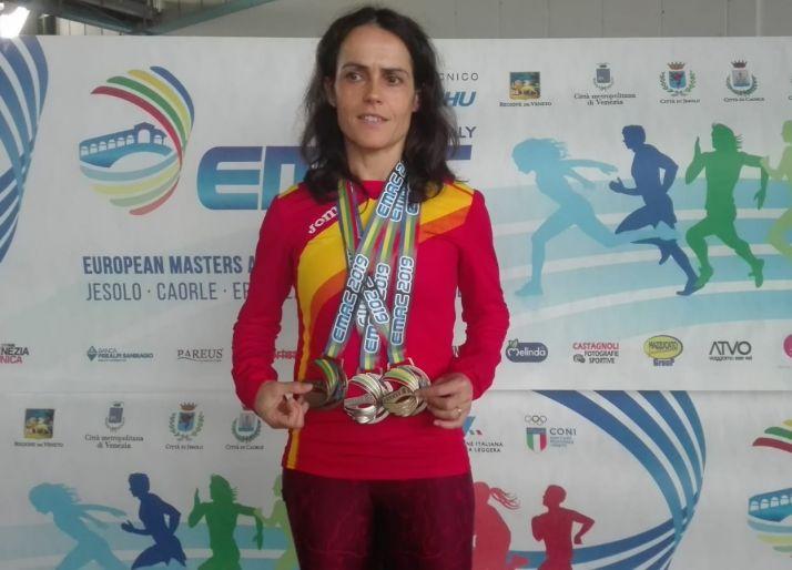 """Foto 1 - A sus 42 años, Elisa Hernández: """"Los resultados me acompañan. ¿Por qué voy a retirarme?"""""""
