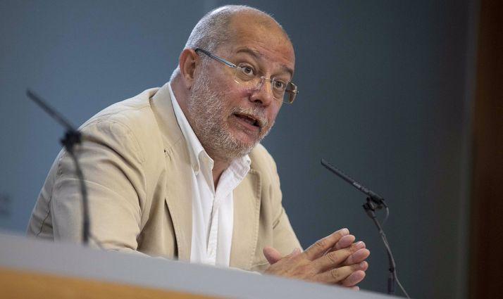 Francisco Igea, vicepresidente de la Junta.