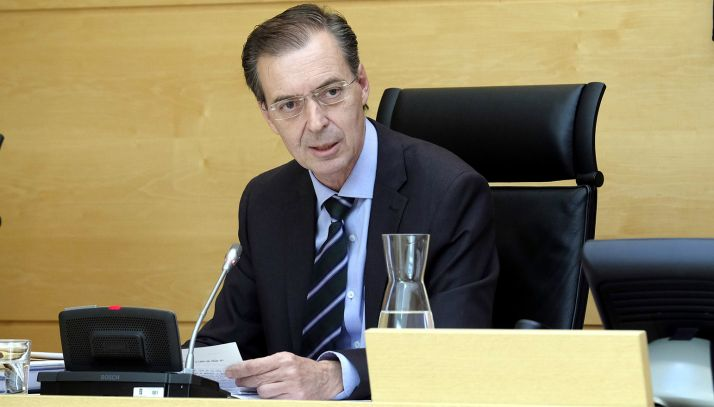 Germán Barrios, en su comparecencia este martes. /Jta.