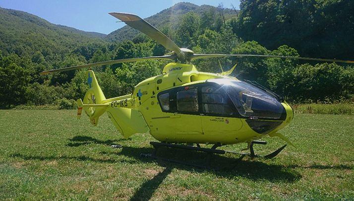 Foto 1 - Un motorista fallecido y otro herido en un accidente en la A-62 en Salamanca