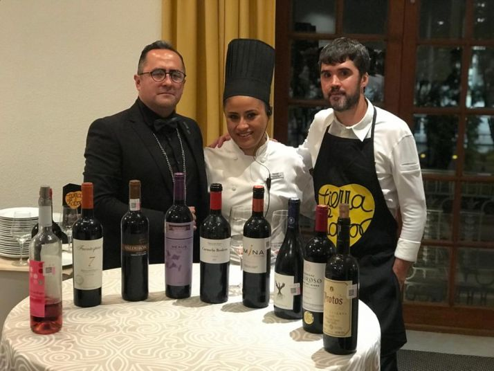 Óscar García, propietario del Baluarte, representa a Soria en México con Tierra de Sabor. Junta de CyL