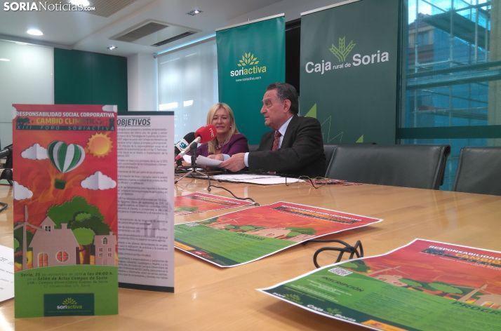 Blanca García y Anselmo García durante la rueda de prensa.
