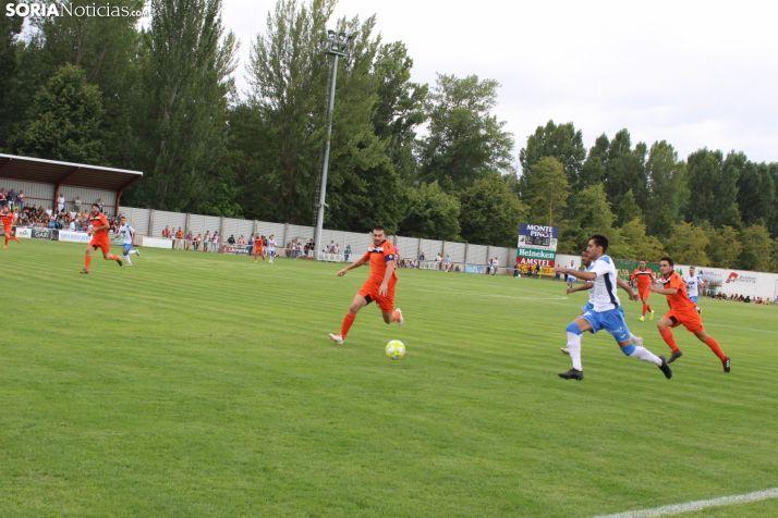 Foto 1 - Despegue numantino y recomposición adnamantina en la tercera jornada de Liga