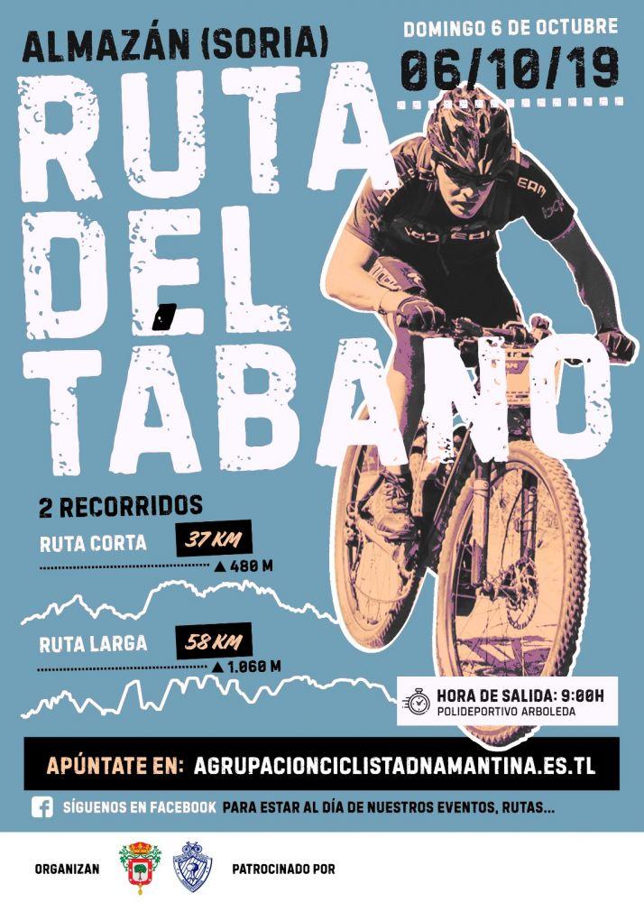 Foto 2 - Almazán estrena la ruta de MTB 'El Tábano'