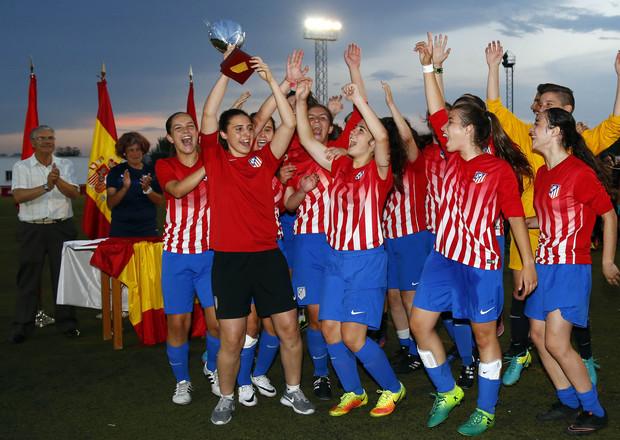 El Juvenil A del Atlético de Madrid regresa a Soria este domingo. Federación de Fútbol de Madrid