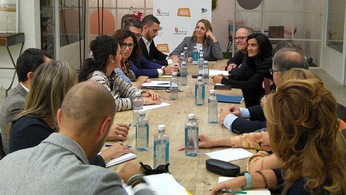 Una imagen de la reunión en Madrid. /Jta.