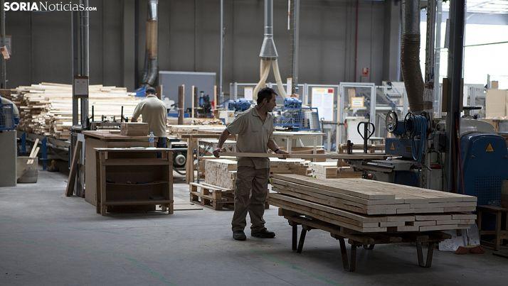 Interior de la factoría de San Leonardo. /SN