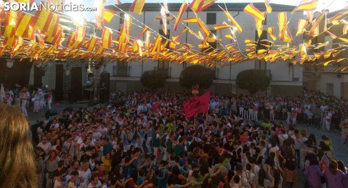 Imagen del arranque de las fiestas de 2018. /SN
