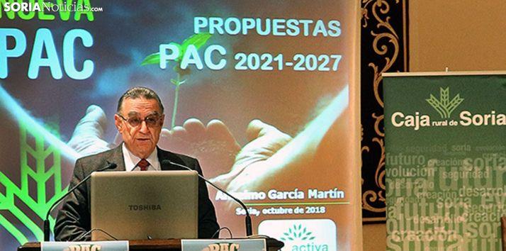Anselmo García, director de Soriactiva. /SN