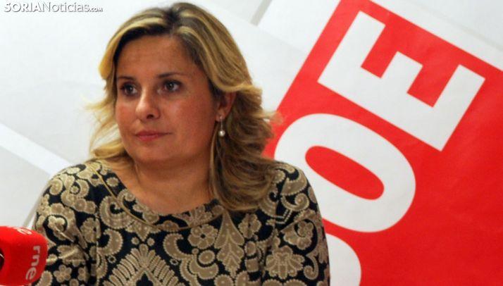 La diputada socialista Esther Pérez. /SN