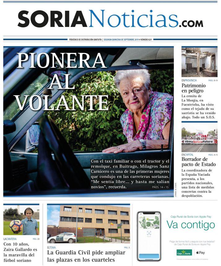 Portada del número 82 de Soria Noticias