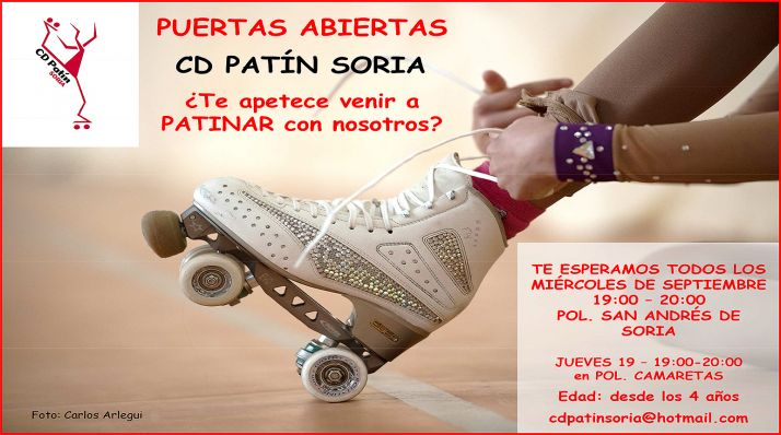 Foto 1 - El CD Patín Soria anima a conocer esta disciplina