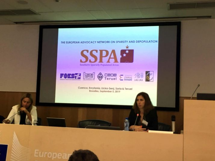 Foto 1 - La SSPA a petición de la Comisión Europea traslada a los técnicos europeos la situación de las zonas despobladas