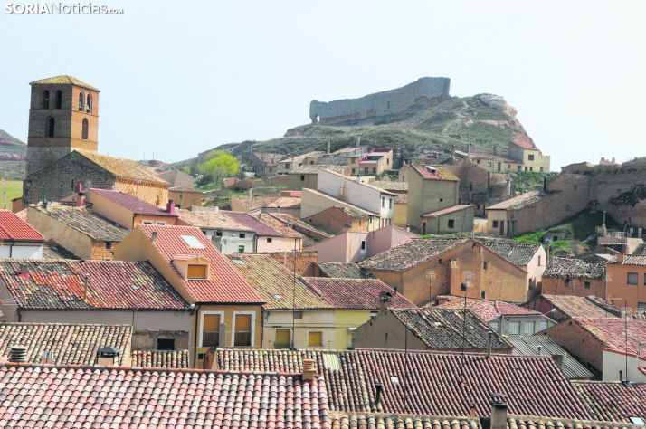 Vista panorámica de San Esteban de Gormaz.