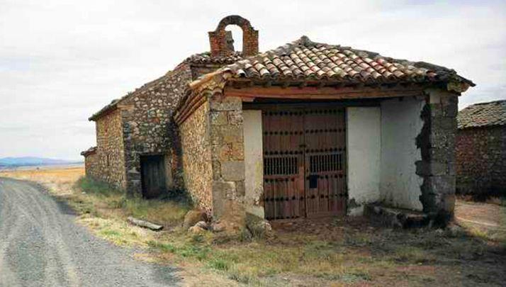 Una imagen de la ermita.
